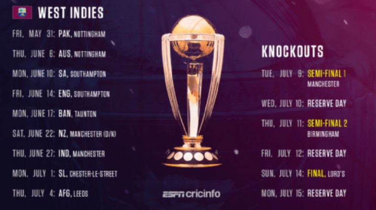 cricket world cup 2021 schedule