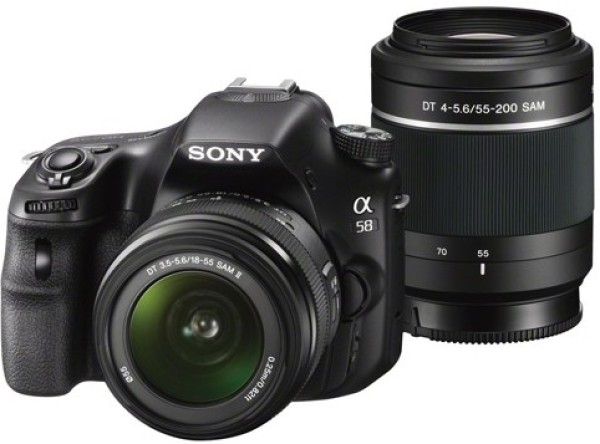 Sony SLT A58Y - Best DSLR Cameras Under 40000 In India