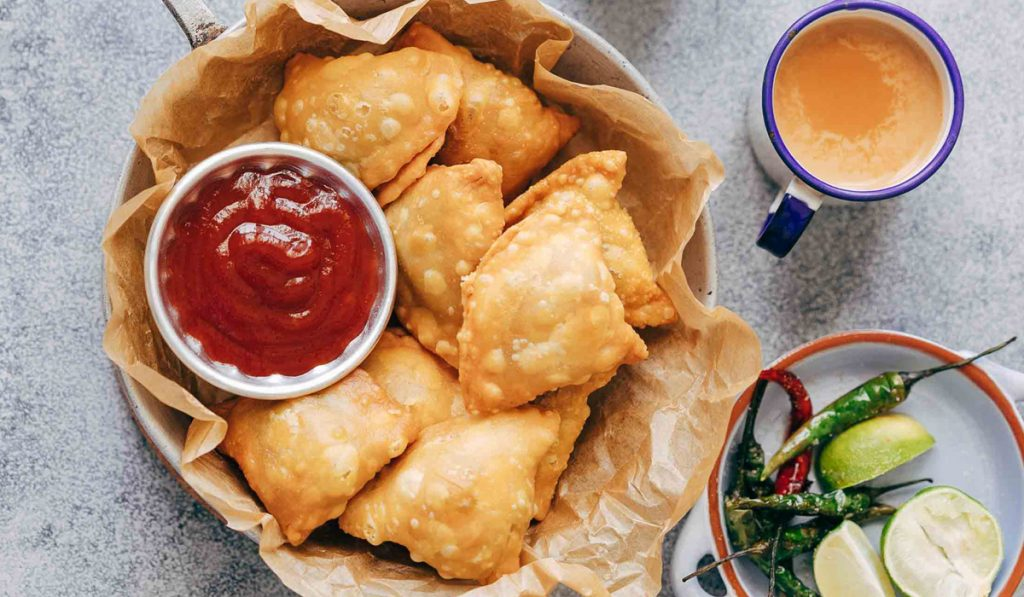 Samosa - Indian Food You Believe Are from India but Actually Not