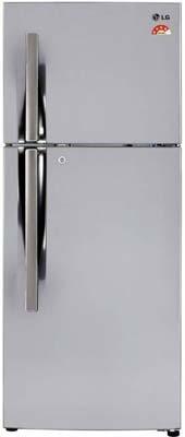 LG 284 L 3 Star Frost-Free Double Door Refrigerator (GL-I302RSAY)