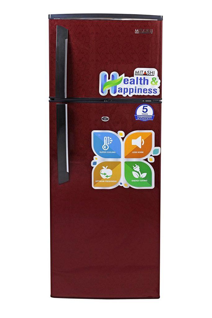 Mitashi 240 L 3 Star Direct-Cool Double-Door Refrigerator