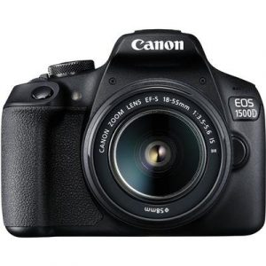 Canon EOS 1500D Digital SLR Camera (Black)