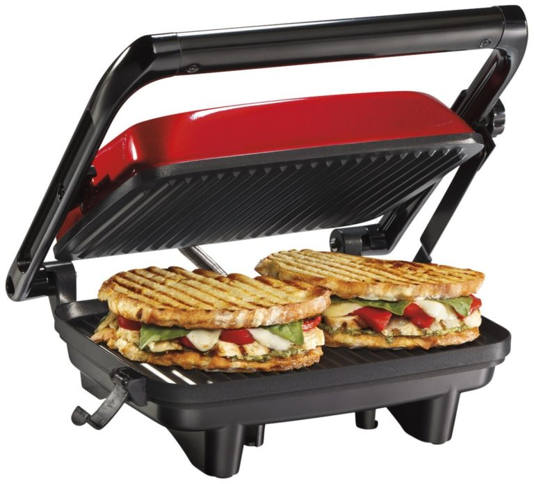 Hamilton Beach 25462Z Panini Press Gourmet Sandwich Maker