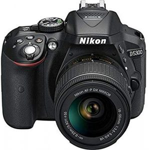 Nikon D5300 24.2MP Digital SLR Camera (Black)