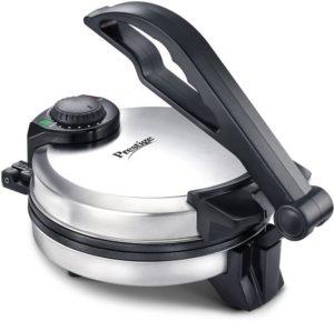 प्रेस्टीज रोटी मेकर PRM 5.0 डेमो सीडी के साथ फ्री किचन प्लास्टिक मैनुअल आटा (एटा) मेकर के साथ