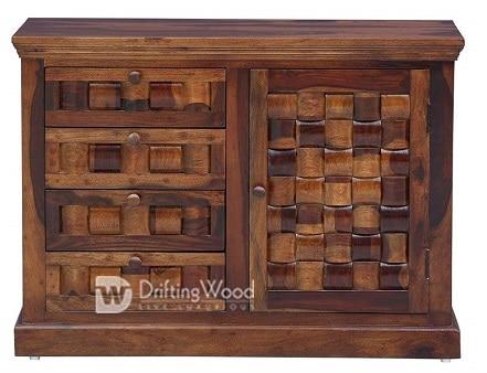 DriftingWood लकड़ी के साइडबोर्ड रसोई
